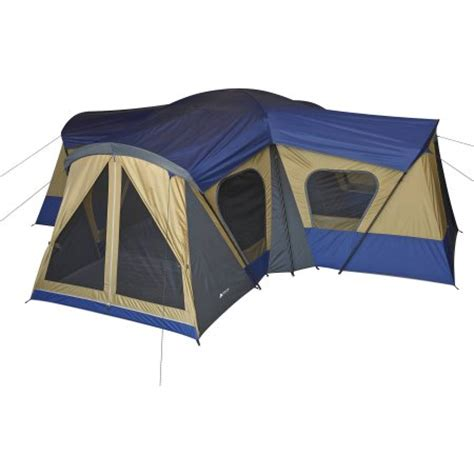 4 room tent ozark trail 14 person 4 room base c tent walmart