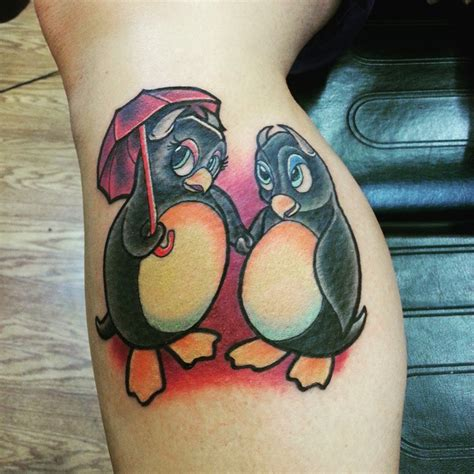 penguin tattoo 55 and penguin designs