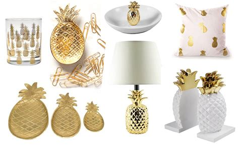 pineapple home decor 20 beautiful gold pineapples for home decor the kim six fix