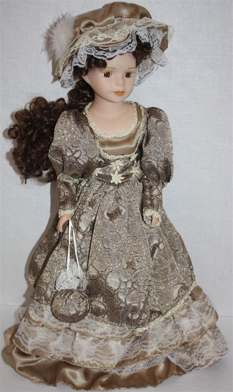 porcelain doll ebay euc beautiful porcelain collectible doll 20 quot ebay