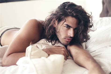 long haired male models fc mario blanco tumblr