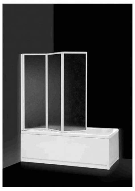 box vasca ikea box sopravasca 3 ante pieghevoli in acrilico