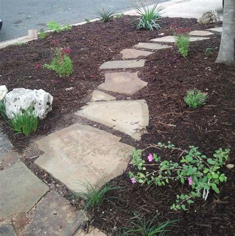 Design Ideas For Flagstone Walkways Pin By Monika A On Yard Garden Pinterest