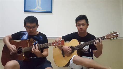 tutorial fingerstyle ran dekat di hati dekat di hati ran guitar cover duet youtube