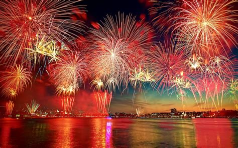 beautiful new year fireworks wallpapers13 com