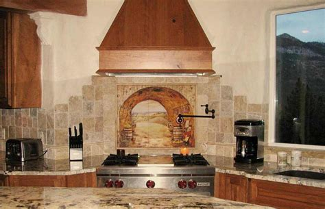 Tuscan Kitchen Backsplash by Divine Design Kitchen Backsplash Feel The Home
