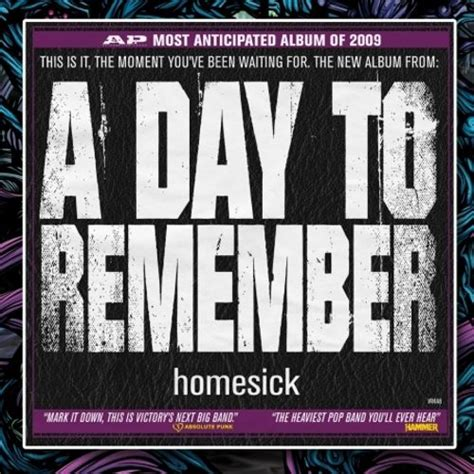 homesick adtr homesick a day to remember songs reviews credits