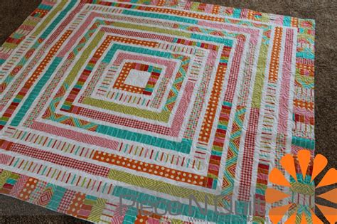Jelly Rolls Quilt by N Quilt Jelly Roll Quilt