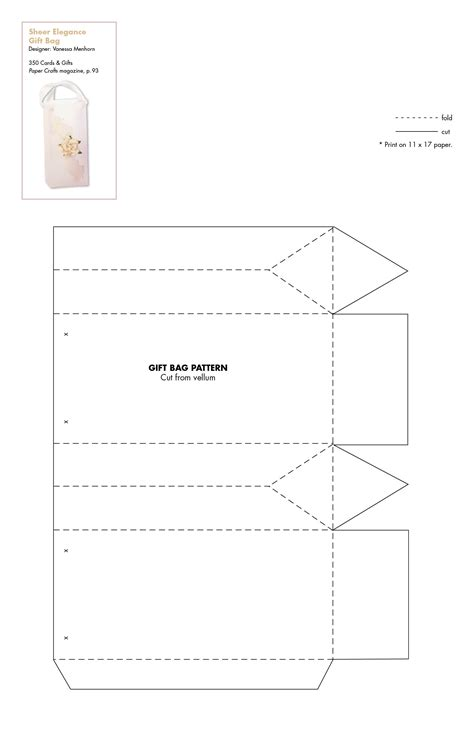 paper gift bag template search results for printable gift cards template