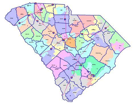 south carolina state map all about redistricting south carolina