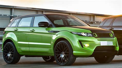 green range rover range rover evoque in lamborghini green pearl by kahn