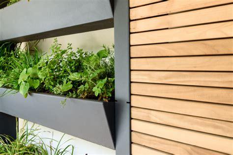 sichtschutz vertikaler garten vertikalgarten gartensilber