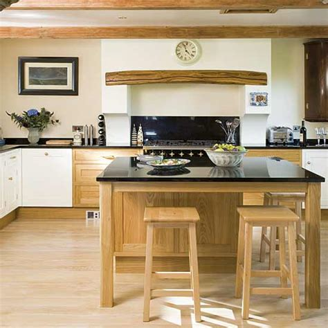 Oak Kitchen Ideas Classic Oak Kitchen Kitchne Design Decorating Ideas Ideal Home