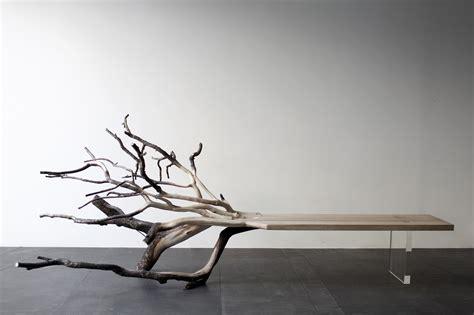 fallen tree bench  benjamin graindorge