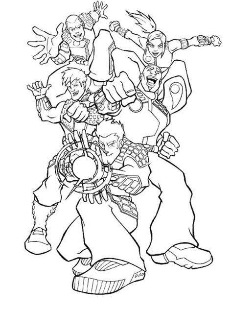 full sizes super hero squad show coloring pages 12 print