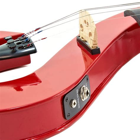 s shaped s shaped electric violin by gear4music at gear4music