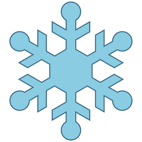 snowflake clipart clipartion