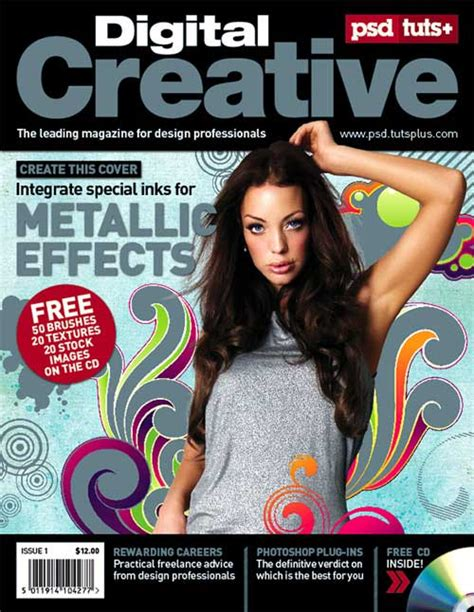 design cover magazine photoshop magazine cover design tutorials basic step by step guides