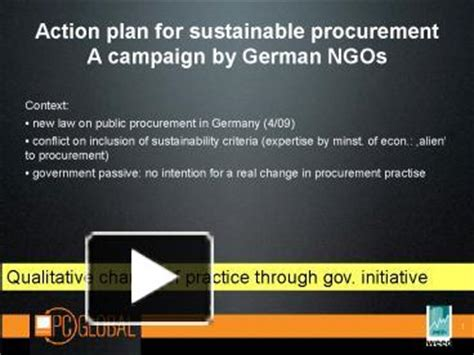 free ppt templates for ngo ppt action plan for sustainable procurement a caign