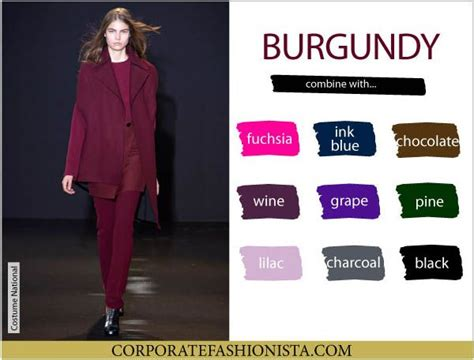 color coordinate  fall wardrobe   pro cfs