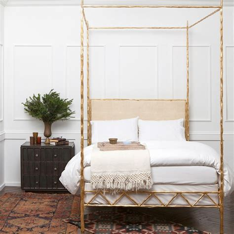 gold bed canopy gold canopy bed a dream for the room med art home
