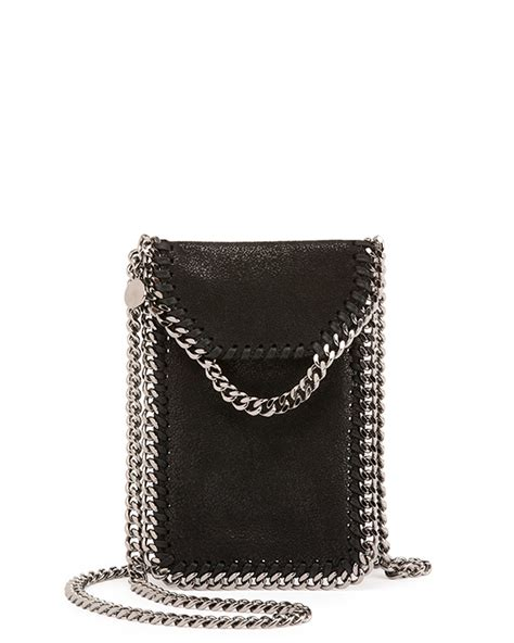 Phone Crossbody Bag lyst stella mccartney crossbody bag phone holder w chain