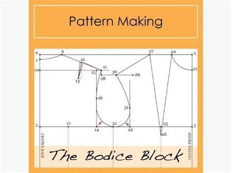 pattern maker winnipeg pattern making the bodice block victoria city victoria