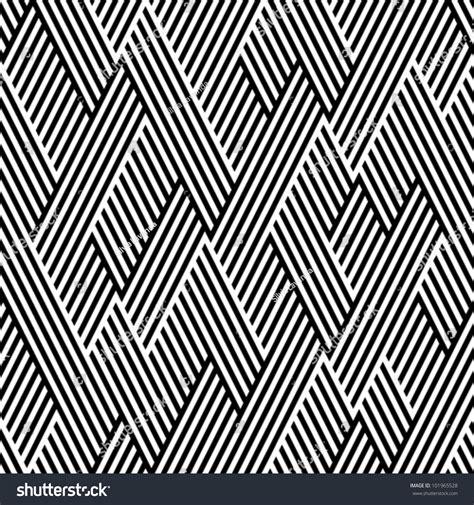 pattern line black white pattern zigzag line black white stock vector 101965528