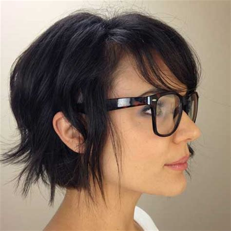 hairstyles with thick glasses 2013 short cuts for thick hair short hairstyles 2017