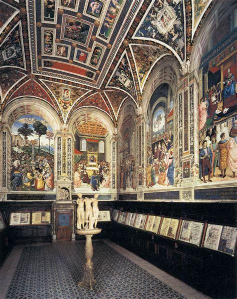 libreria piccolomini siena libreria piccolomini nel duomo di siena bibliotecas