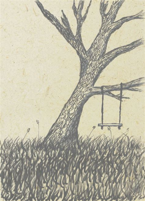 easy drawings of trees tree drawing by reconzile on deviantart