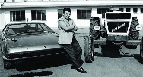 Facts About Ferruccio Lamborghini Ferruccio Lamborghini In The Works