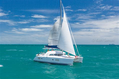 catamaran yacht tour catamaran wisdom yachts tours on koh samui