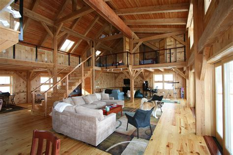 pole barn home interiors home ideas pole barn house building layouts style plans buildings knowhunger