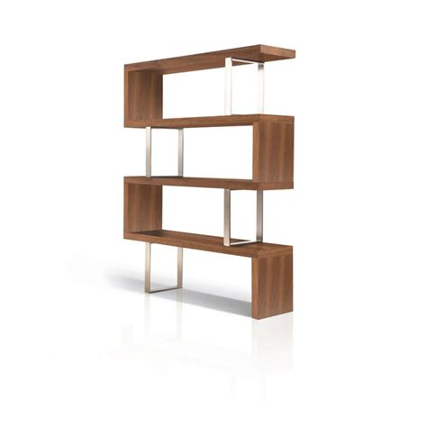 pearl bookcase walnut furnish mid century