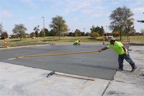 Concrete Paving Contractor Commercial Concrete Asphalt Services Columbus Oh