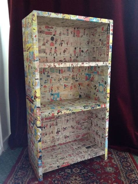 Decoupage Project Ideas - the 25 best diy decoupage bookcase ideas on