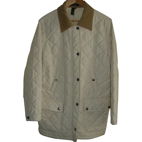 Quilted Barn Jacket S by Vintage Ralph Quilted Barn Jacket Coat Women S Xl