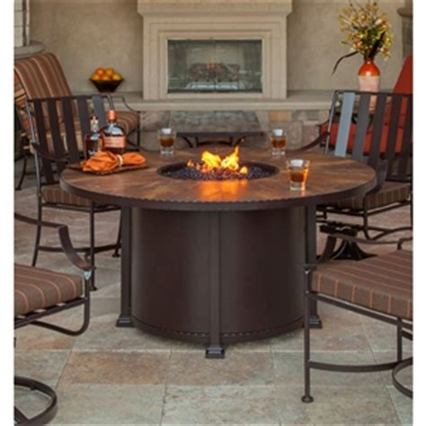 Fire Pit OW Lee 54 Round Dining Santorini 51 14A