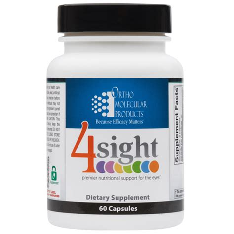 supplement boutique ortho molecular 4sight 60 capsules the supplement boutique