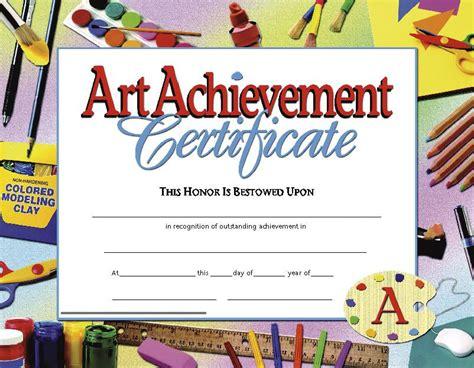 printable art awards certificates art achievement 30 pk 8 5 x 11 inkjet laser
