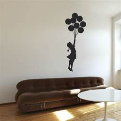 banksy floating girl wall stickers by wallboss wallboss pics photos family wall quotes art wall stickers wall