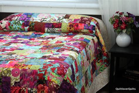 Colorful Quilt Bedding King Size Bed Quilt Designer Medley Botanica 100 X