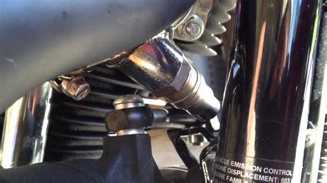 harley o2 sensor gasket vance hines shortshot exhaust install