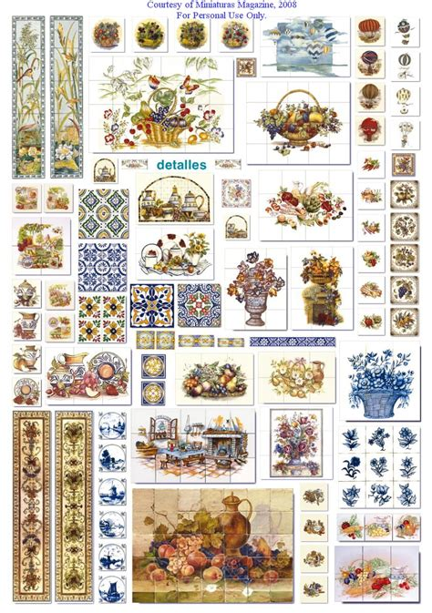printable dolls house accessories materiale da stare cant wait tile patterns and