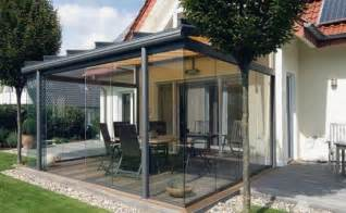 Veranda Ums Haus by Terrassenglasdach Alu Veranda Verglasung 220 Berdachung