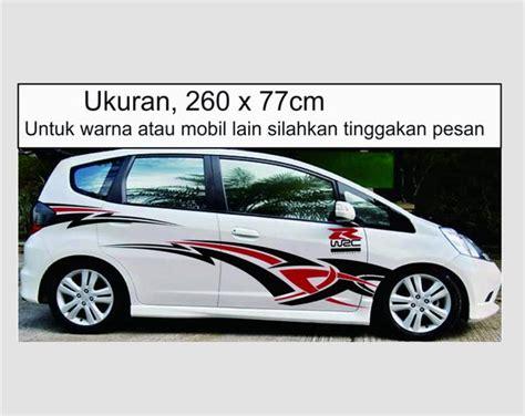 Harga Stiker Mobil by Jual Harga Stiker Mobil Jazz Pinassotte