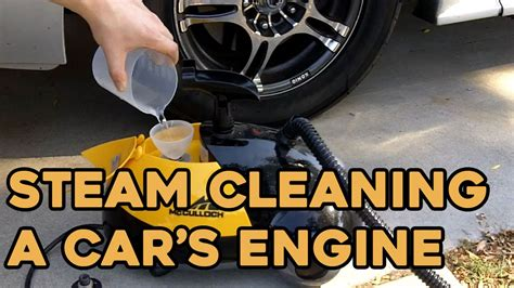 steam cleaning  car engine tips tricks    youtube