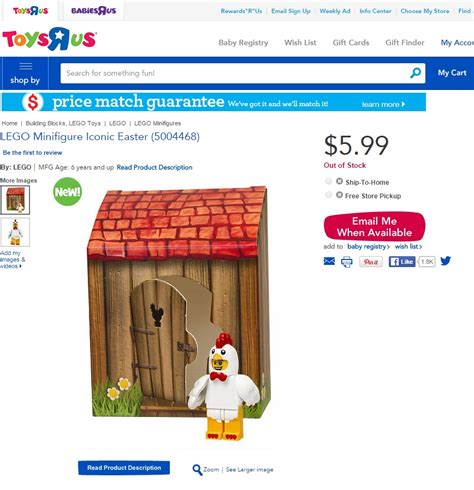 Lego 6142167 Iconic Easter Minifigure Chicken Suit upcoming lego polybags promos for australia classic mr freeze and easter minifigure 5004468