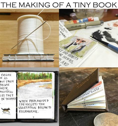 Make A Mini Book Challenge by Miniature Books A Tiny Book For A Tiny Book Show